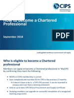 How to Become a Chartered Professional Sept 2018