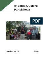 St Giles Church, Oxford - October 2018 Parish News