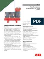 Transformateurs ABB Enrobés Dans La Résine
