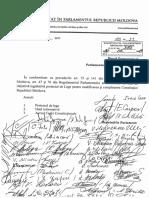Proiectul legii pentru modificarea și completarea Constituției Republicii Moldova (preambul, art.1, art.8'1)