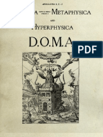 Physica (alpha and omega) Metaphysica and Hyperphysica - D.O.M.A. [Codex Rosae Crucis]