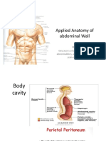 Applied Anatomy of Abdominal Wall-Santosa Budiharjo (2016)