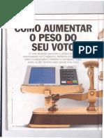 Revista Veja - Voto Distrital