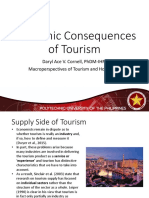 03 - Economic Consequences of Tourism