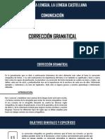 CORRECCION GRAMATICAL