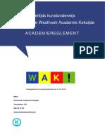 dko academiereglement versie mei 2018