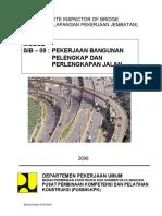 2006-09-Pekerjaan Bangunan Pelengkap Dan Perlengkapan Jalan