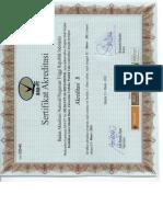 Sertifikat FKIP PGSD 2011