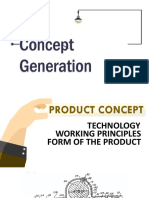 Product Development - Concept Generation