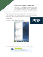 Configurar Tarjeta de Red en Windows 7 o Windows Vista