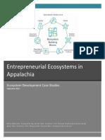 Entrepreneurial Ecosystems Case Studies 2018