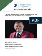 Trabalho john sloboda - Pedro Góis