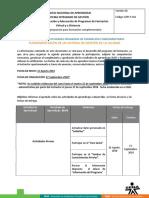 Cronograma de Actividades Fundamentación de Un Sgc 31-08-2018.