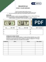 3.- Dolares - Billetes