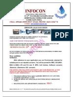 Infocon- Selection Order Form