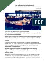 09/Octubre/2018 SHF y BMV impulsarán financiaciamiento verde