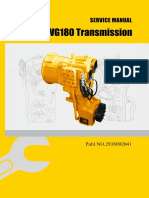 ADVANCE WG180 Transmission Service Manual
