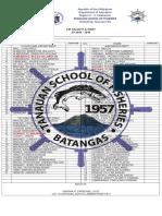 Tsf Faculty & Staff 2018 - 2019