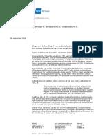 TDC's brev til Datatilsynet om logning