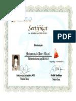 autocad sertifikat
