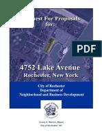 4752 Lake Avenue RFP