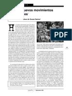 Boaventura - Los nuevos movimientos sociales.pdf