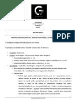 Roteiro de Aula - Aula 02 - Principios, Personalidade Civil, Teoria Da Incapacidade, Legitimidade e Emamncipação