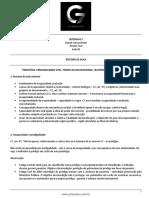 Roteiro de Aula - Aula 03 - Principios, Personalidade Civil, Teoria Da Incapacidade, Legitimidade e Emamncipação