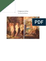 O Julgamento de Páris de P. P. Rubens