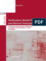 Isil Dillig, Jens Palsberg - Verification, model checking and abstract interpretation.