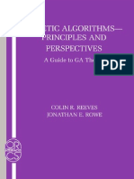 Genetic algorithms, principles and perspectives: a guide to GA theory