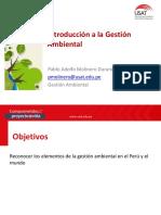 Sesión 10 - GA1 - Introducción a La Gestión Ambiental