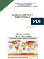 Cambio Climatico y Biodiversidad