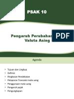 PSAK 10 Pengaruh Perubahan Valuta Asing IAS 21 06022017