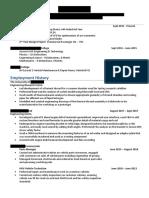 Anonymous CV