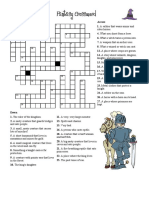 Fantasy Crossword