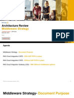 ARI.071 Architecture Review Middleware Strategy