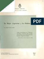 5- La Mujer Argentina y La Politica