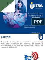 Clasificación ABC de Inventario