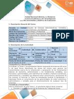 Guía Actividades y Rúbrica Evaluación Tarea 1 Reconocer Características y Entornos Generales Del Curso.