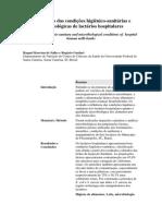 Diagnóstico Das Condições Higiênico Lactário Scielo