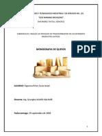 Monografia de queso