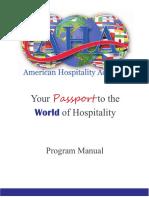 AHA Program Manual
