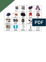 20 Prendas de Vestir Ingles_español