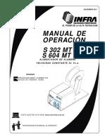 Manual de operación S 302 MT