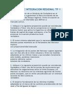 Derecho de Integracion Regional Tp 1 (80%)