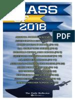 2018 Pitt County GDR Graduation Tab