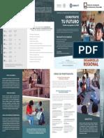 CIAD Triptico Estudios de Desarrollo Humano y Vulnerabilidad Social
