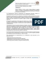 ESPECIFICACIONES TECNICAS ISPACAS