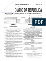 Lei dos feriados angola